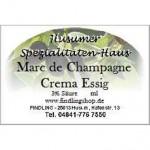 Marc de Champagne Crema Essig